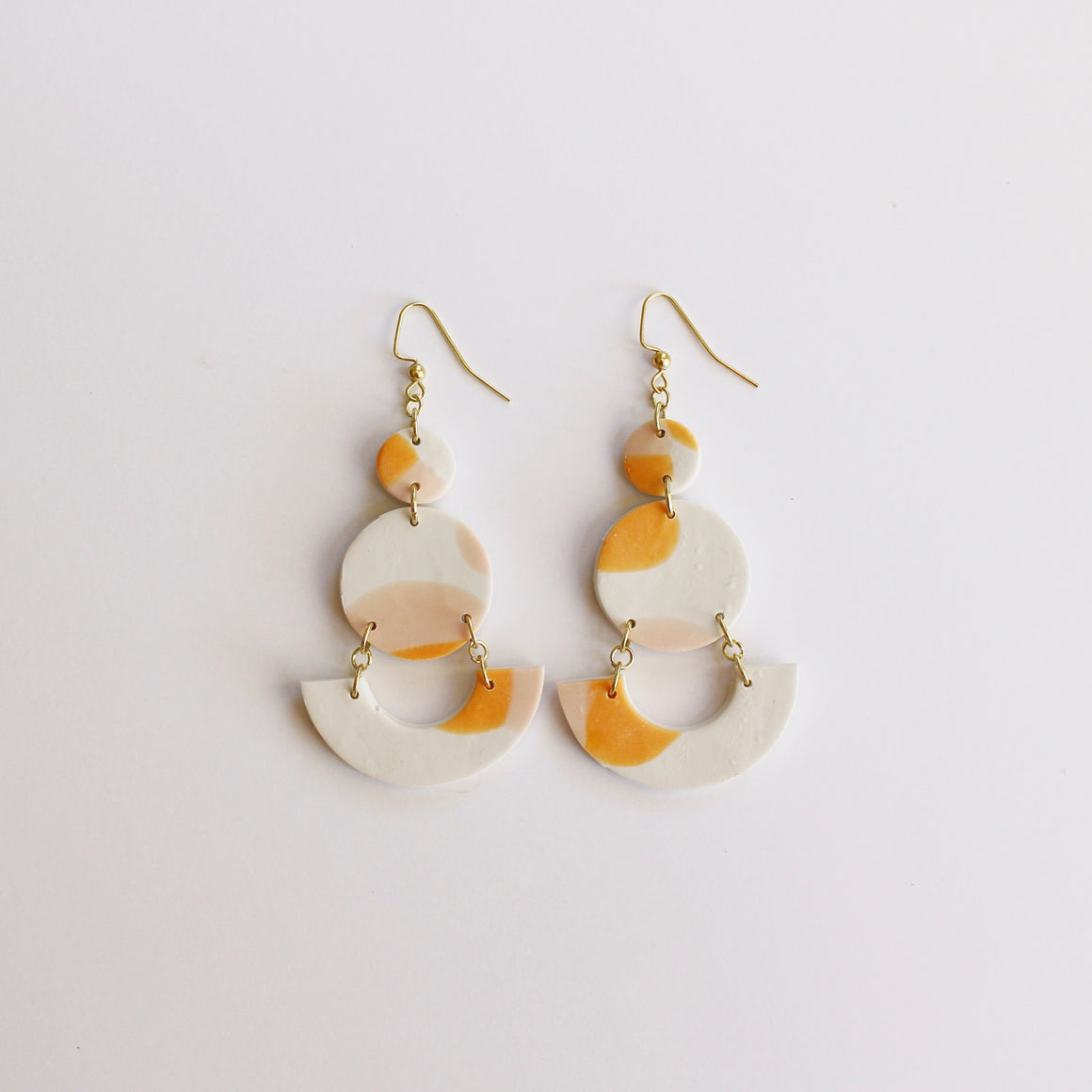 Like Wildflower: Grace Earrings - Sherbet