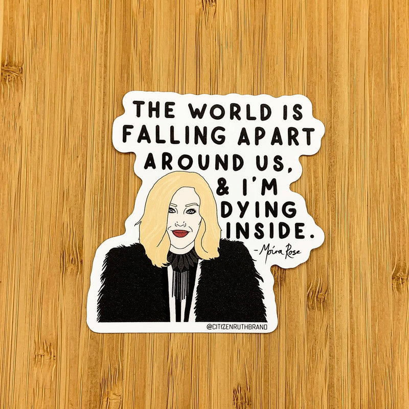 Citizen Ruth: Moira Schitt's Creek Sticker