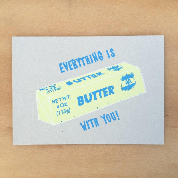 Gold Teeth Brooklyn: Everything is Butter Card
