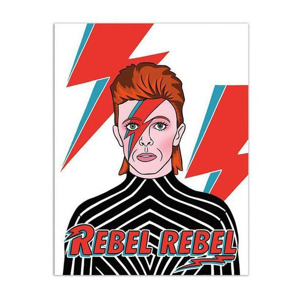 The found david bowie rebel birthday card kira the found david bowie rebel birthday card bookmarktalkfo Image collections