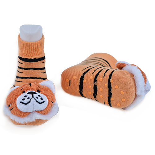Liventi: Tiger Rattle Sock