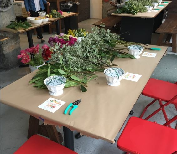 Workshops at Kira SF: Floral Arrangement / Thurs, Nov 1, 2018