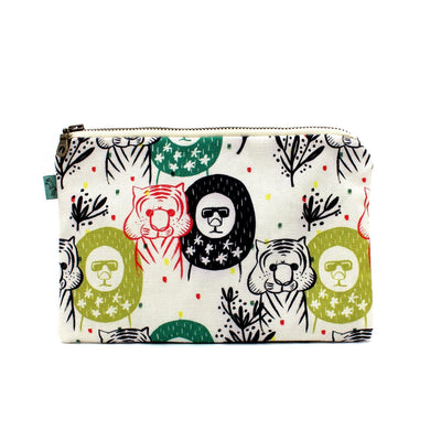 Curio Wolf: Vacation Buddies Flat Pouch