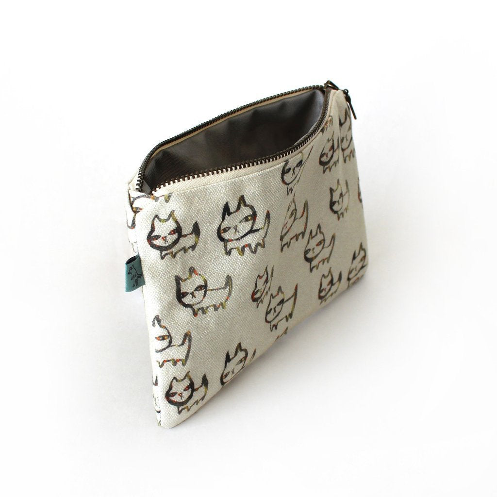 Curio Wolf: Rufus Flat Pouch