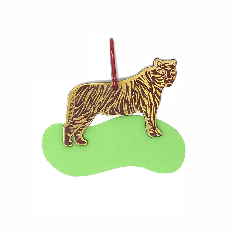 Ark Colour Design: Tiger Bag Tag