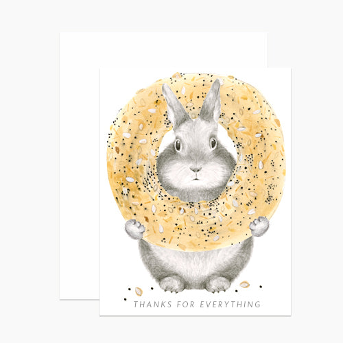 Dear Hancock: Everything Bagel Bunny, Box of 6