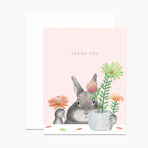 Dear Hancock: Bunny Arranging Protea, Box of 6