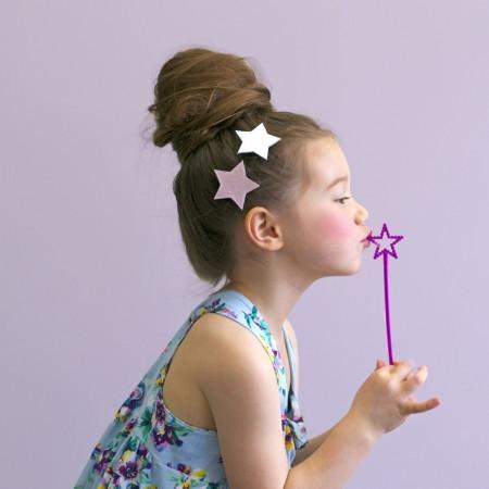 Hello Shiso: Big Star Hair Clip, Set of 2
