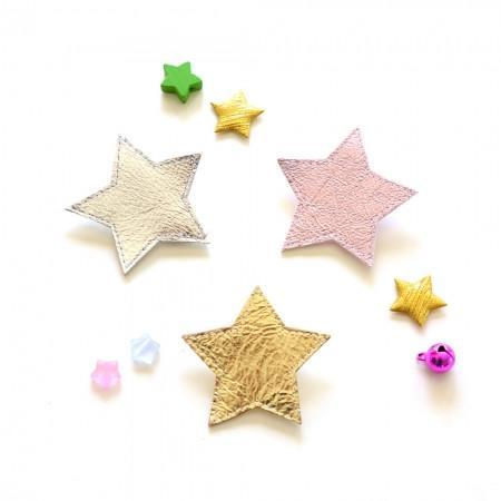Hello Shiso: Big Star Hair Clips, Set of 2