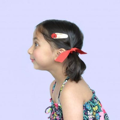 Hello Shiso: Ladybug Hair Clips, Set of 2