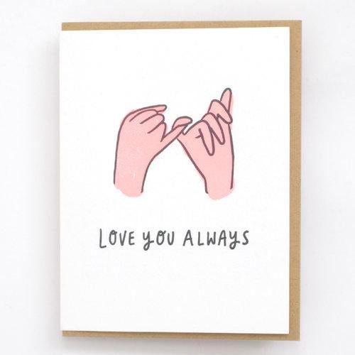 Hello Lucky: Pinky Promise Card