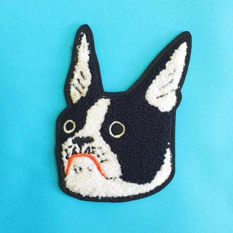 Kristina Micotti: Boston Terrier Patch