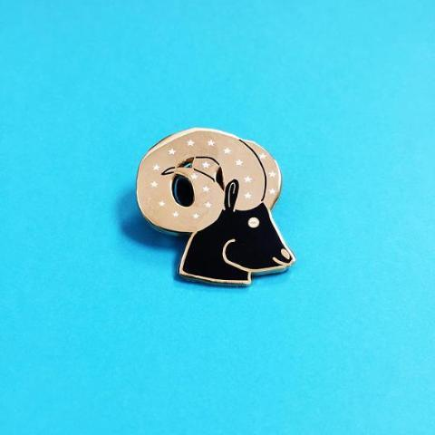 Kristina Micotti: Aries Lapel Pin
