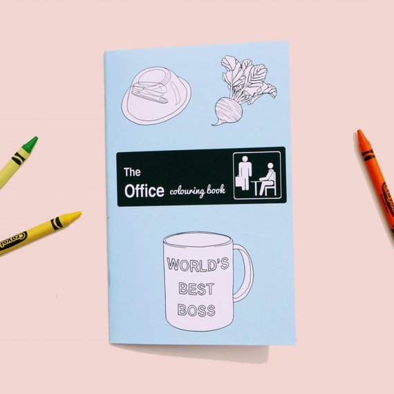 Party Mountain Paper Co.: The Office Colouring Book