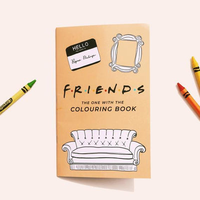 "Party Mountain Paper Co.: FRIENDS - ""The One With The Colouring Book"""