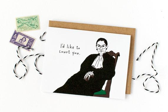 Party of One Paper: Court You - Ruth Bader Ginsburg Card