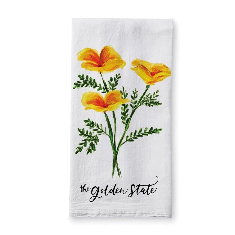 Doodles.ink: The Golden State Tea Towel