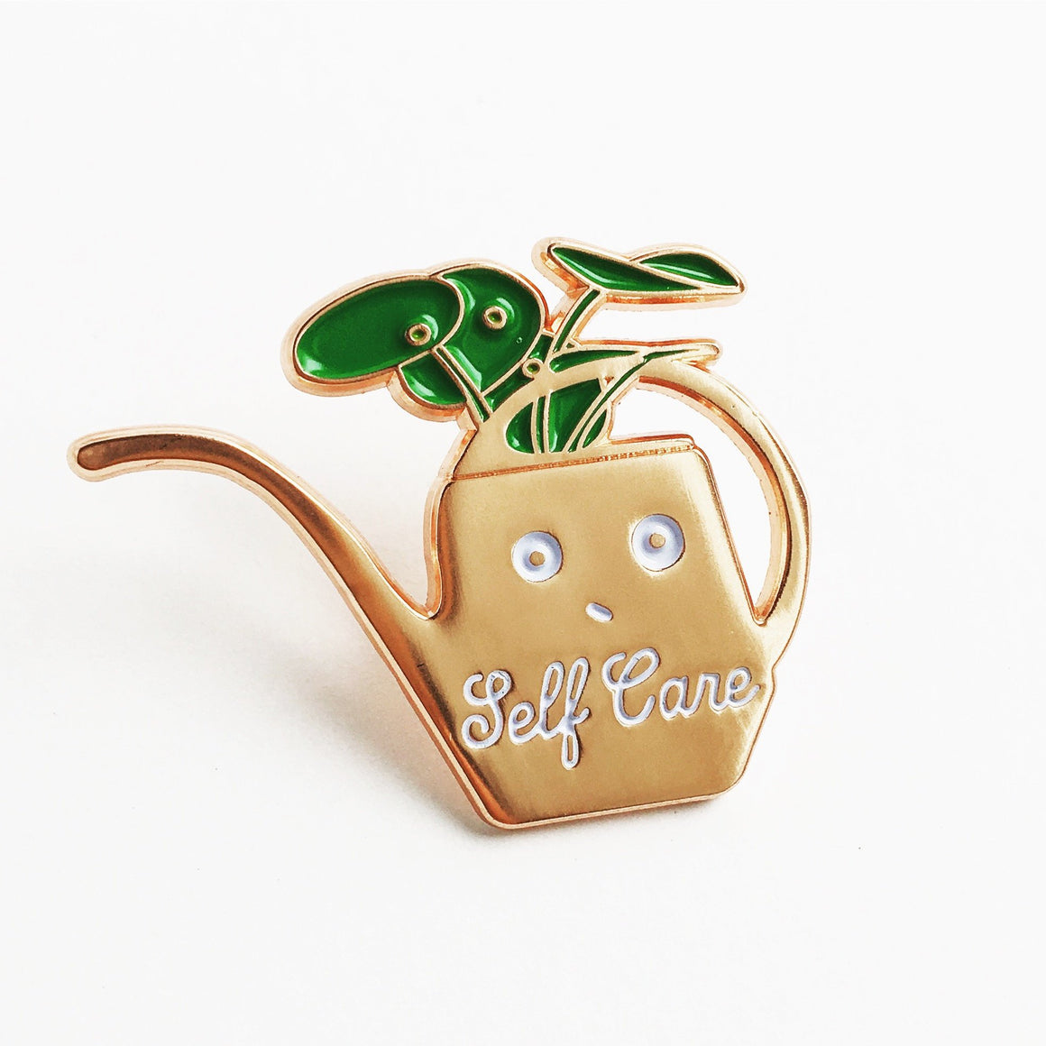 ILootpaperie: Self Care Enamel / Lapel Pin