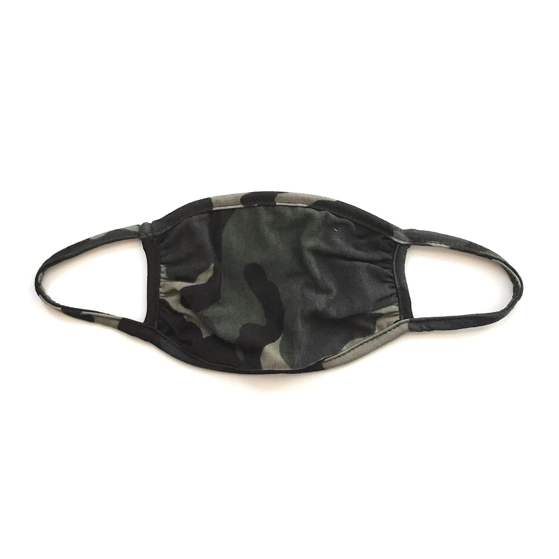 Adult Mask, Camo Army Green