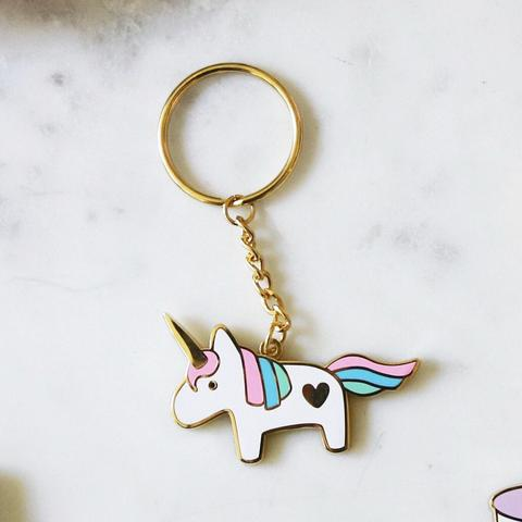 Design + Happiness: Unicorn Keychain