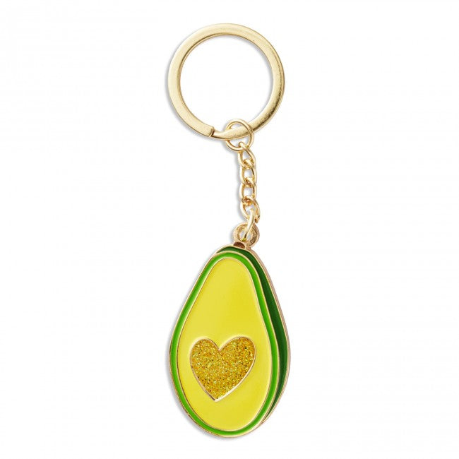The Found: Avocado Heart Keychain