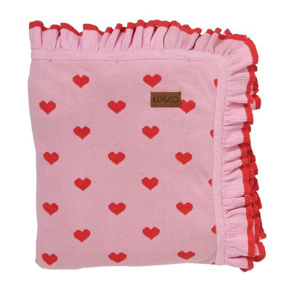 Kip&Co: I Heart You Cotton Blanket