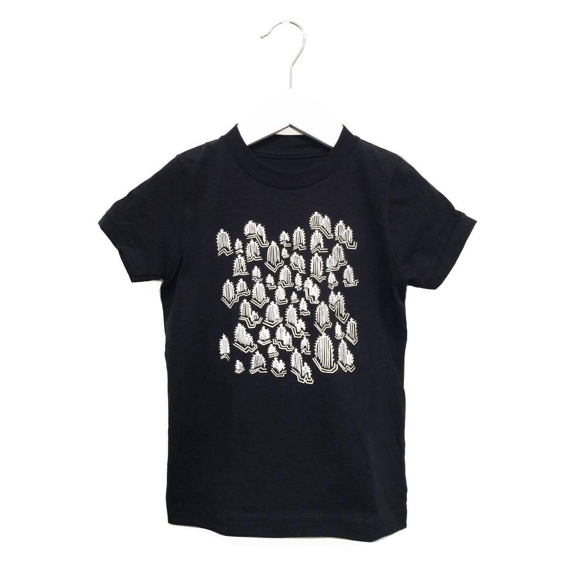 Kira x Coco, KID: Cactus Graphic T-shirt, Black