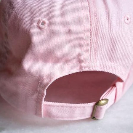 Stay Home Club: Lazy Wives Club Dad Hat, Pink