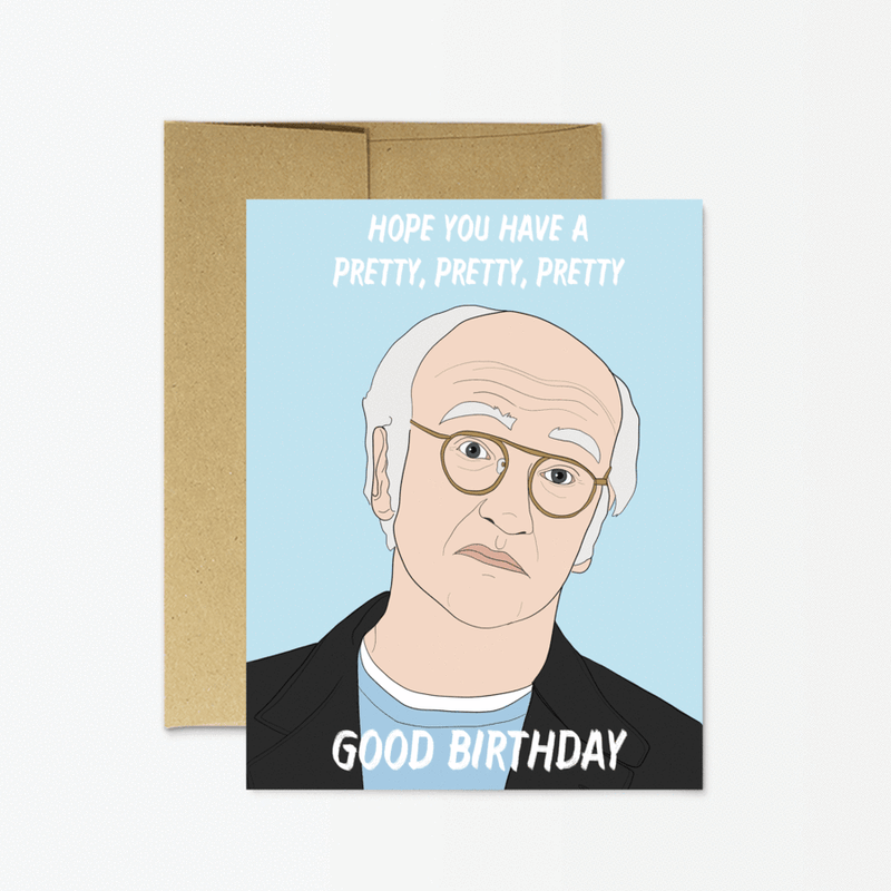 Party Mountain Paper Co.: Pretty Good Birthday Card