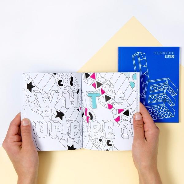 OMY Coloring Notebook Letters