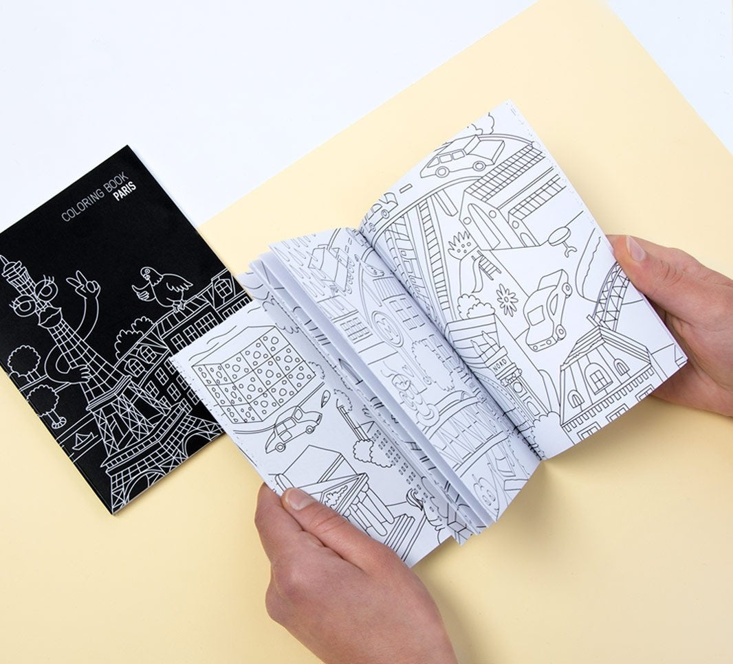 OMY Coloring Notebook Paris