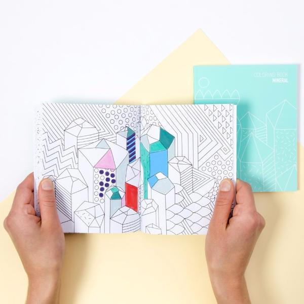 OMY: Coloring Notebook, Mineral