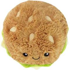 Squishable: Burger Plush Toy, Mini