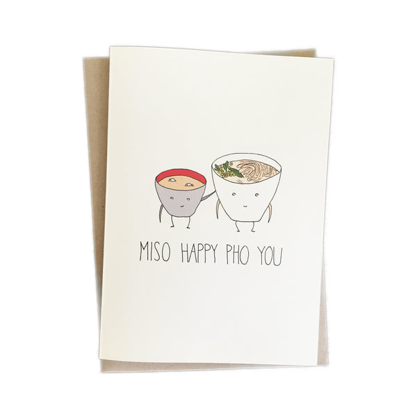 Fineasslines: Miso Happy Pho You Card
