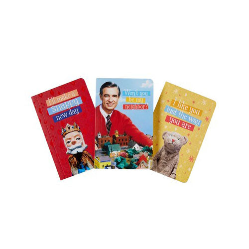 Mister Rogers' Neighborhood Pocket Notebook Collection (Set of 3)