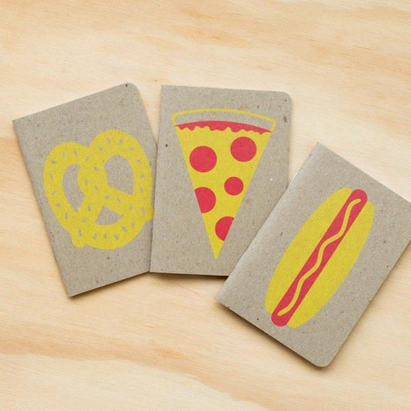 Gold Teeth Brooklyn: 3 Pack Food Notebooks