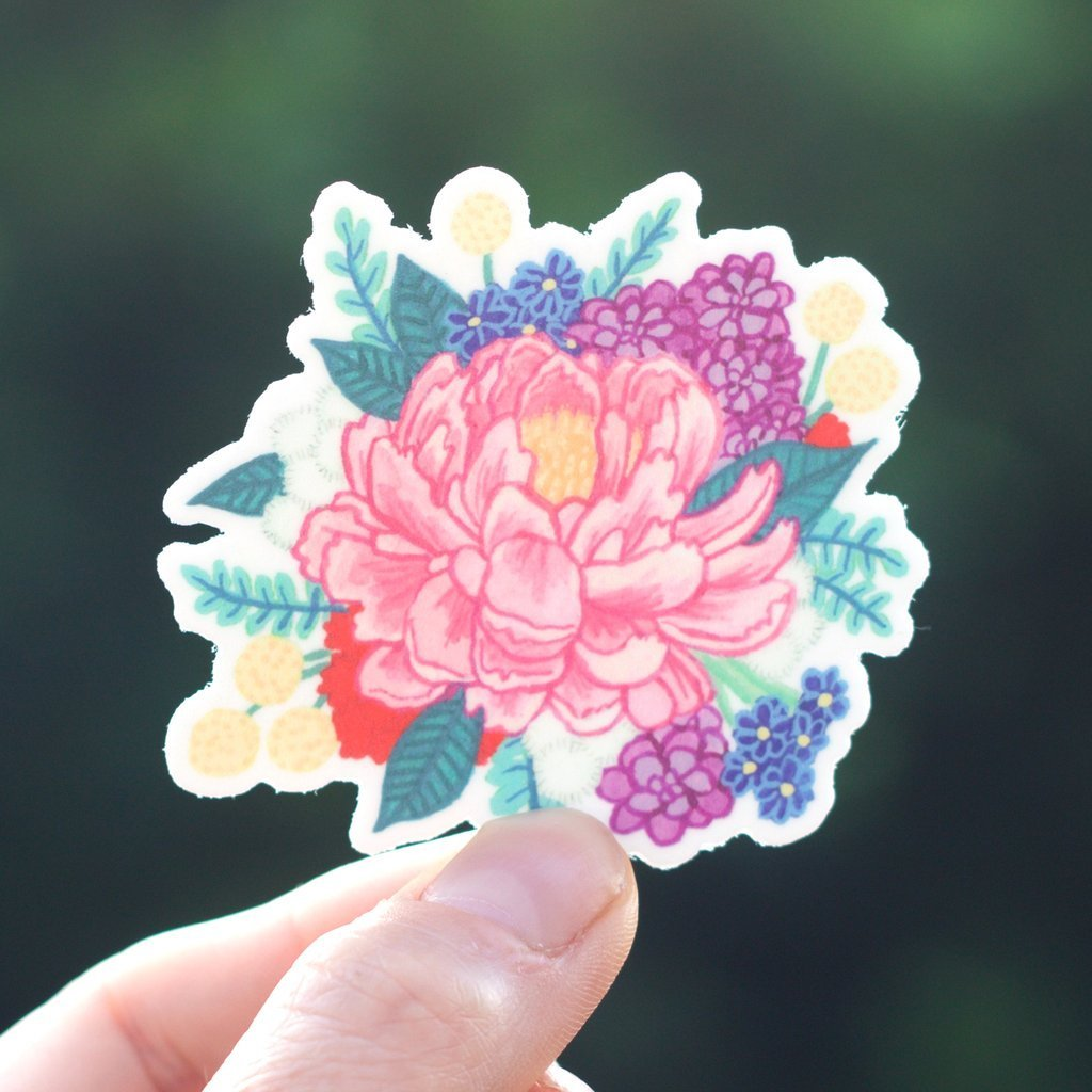 Cactus Club: Flower Sticker Pack