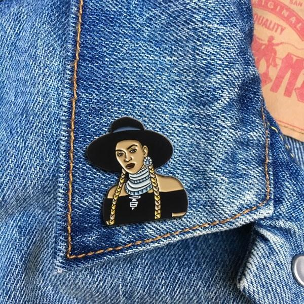 The Found: Beyonce Formation Enamel Pin