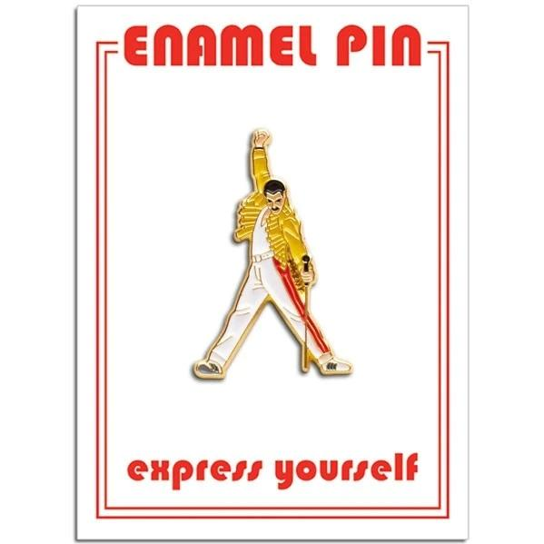 The Found: Posed Freddie Mercury Pin