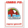The Found: San Francisco Golden Gate Enamel Pin