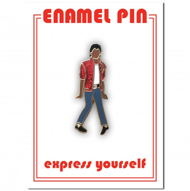 The Found: King of Pop Enamel Pin
