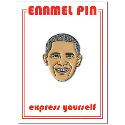 The Found: Barack Obama Enamel Pin
