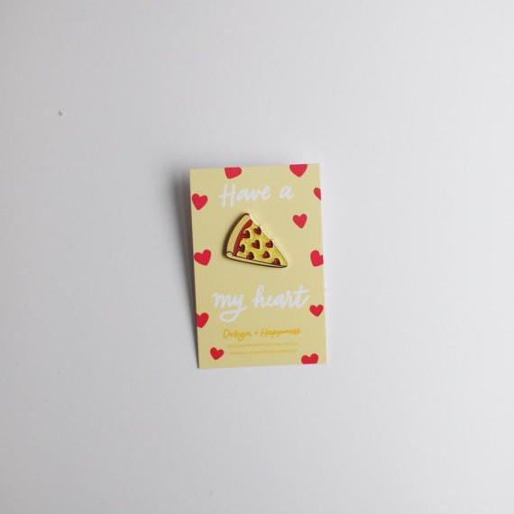 Design + Happiness: Pizza Pin