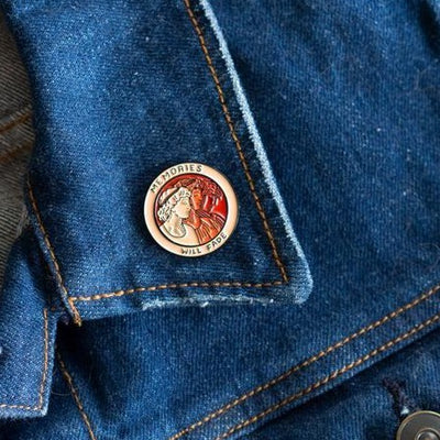 Stay Home Club: Memories Will Fade Lapel Pin