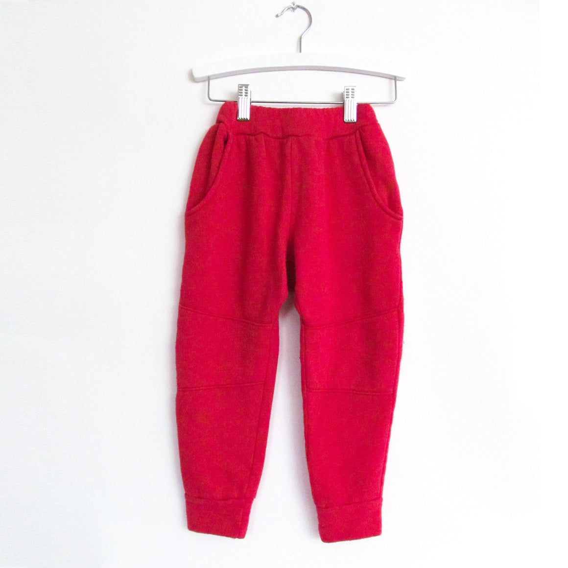 Jogger Pants, Red