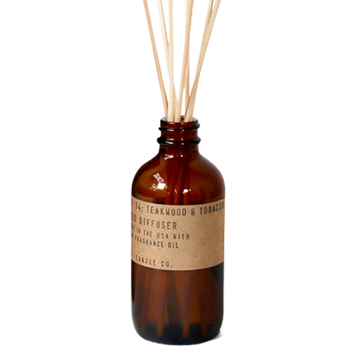 P.F. Candle Co.: Teakwood & Tobacco Reed Diffuser
