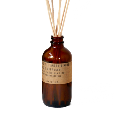 P.F. Candle Co.: Amber & Moss Reed Diffuser