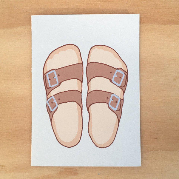 Gold Teeth Brooklyn: Sandals Card