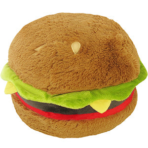 Squishable: Hamburger Plush Toy, Large
