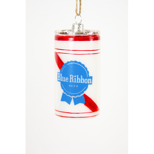 Blue Ribbon Beer Ornament